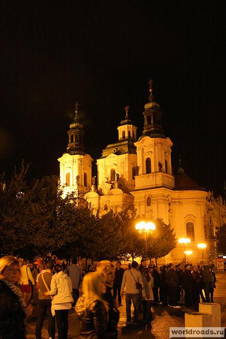 Храм св. Николая в Праге