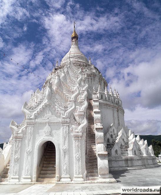 Белые пагоды Мьянмы