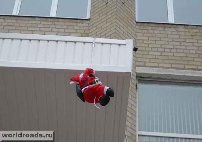 Вот так Дед Мороз доставлял ростовчанам подарки