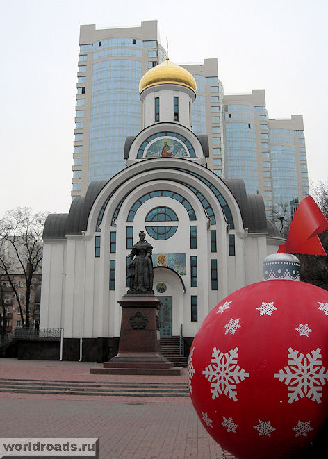 Новогодний Покровский храм