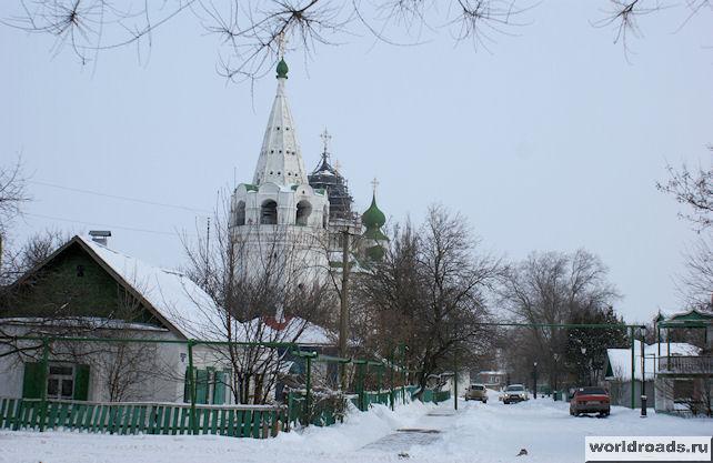 Станица Старочеркасская зимой