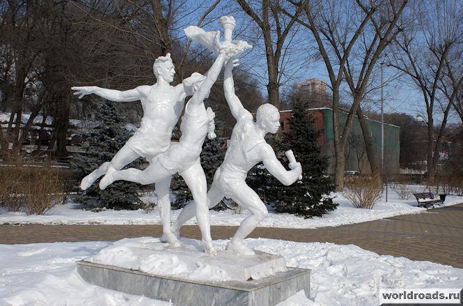 Белоснежные олимпийцы