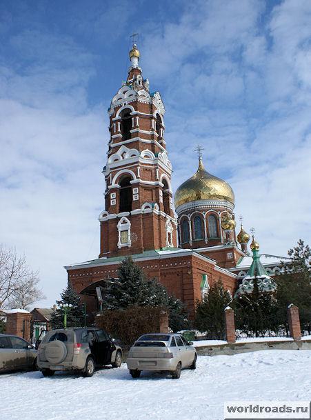Преображенский храм хутора Обуховка
