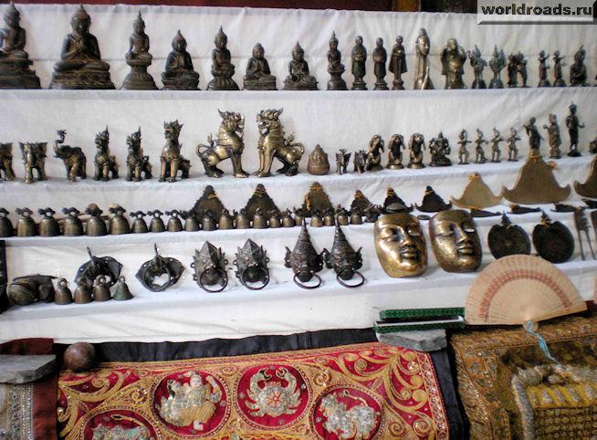 сувениры Мьянмы