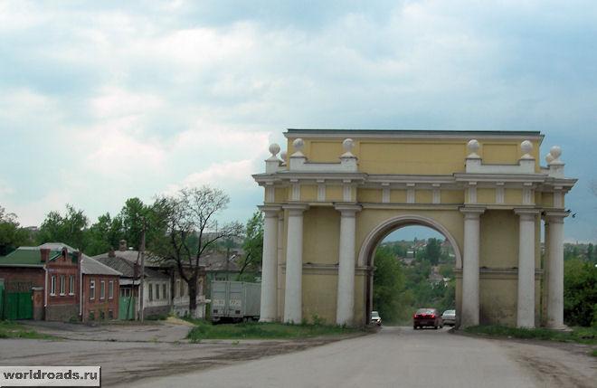 Одна из триумфальных арок