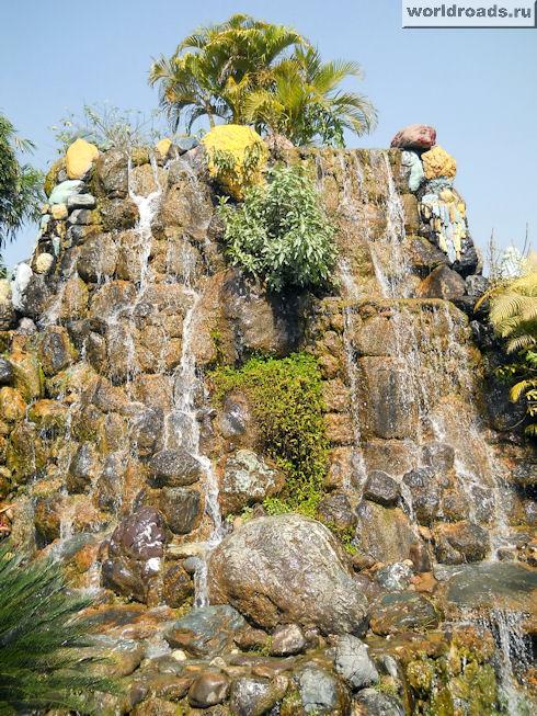 Гора-фонтан