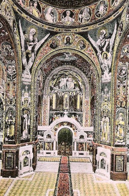 Вознесенский собор. Внутреннее убранство