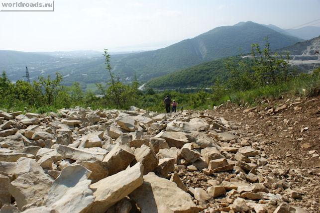 Дорога на гору Нексис