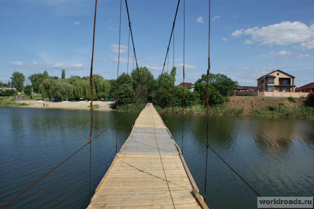 Подвесной мост Семикаракорск