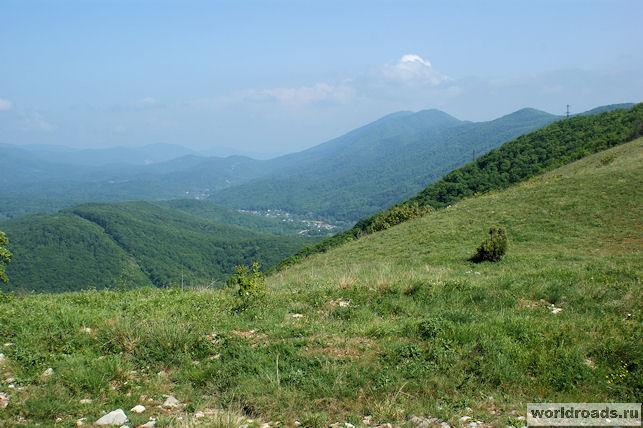 Вид с горы Нексис