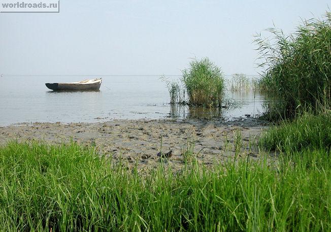 Вид на таганрогский залив в приморке