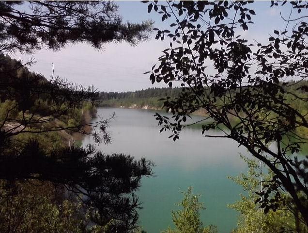 Меловые озёра в Беларуси