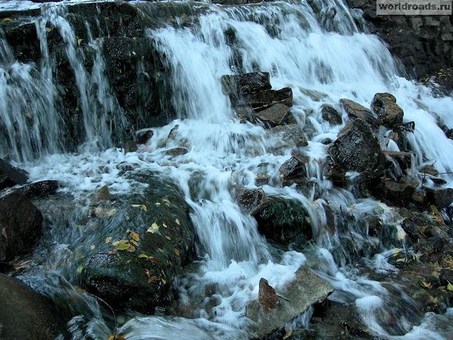 Водопад на Гремучке