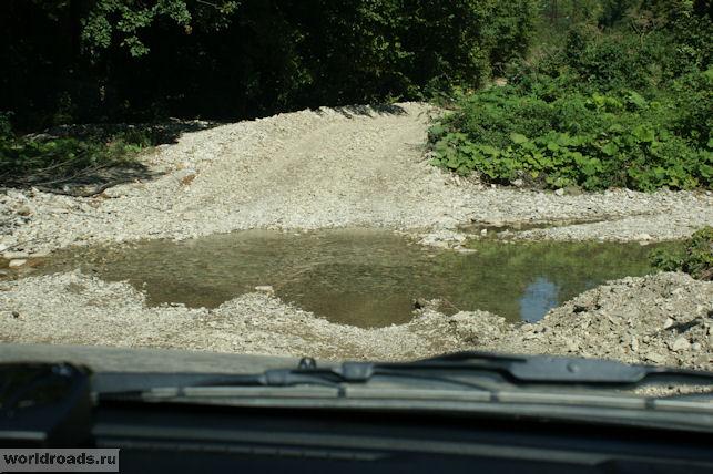 Дорога к Камню джигита