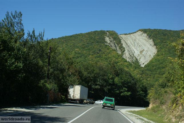 Дорога в Адербиевку