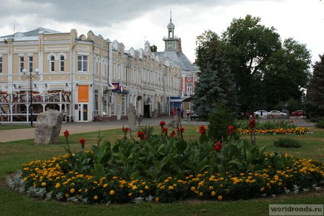 Центр города Азова