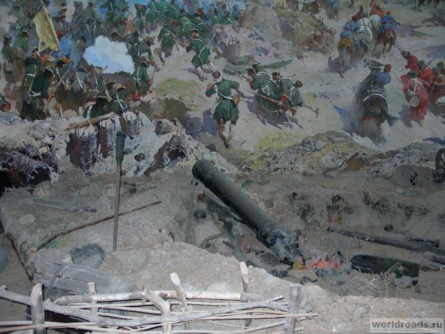 Диорама «Взятие Азовской крепости в 1696 году»