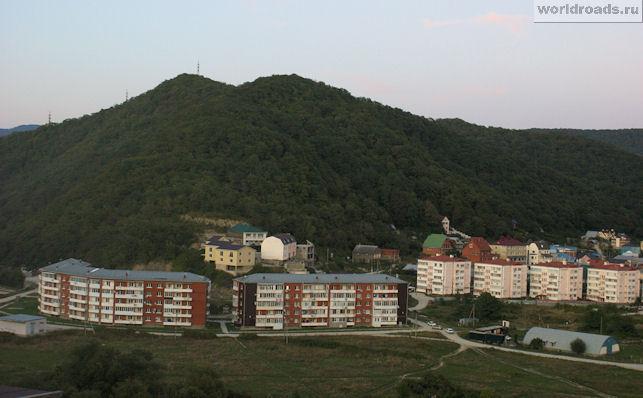 Вид из окна в Ольгинке