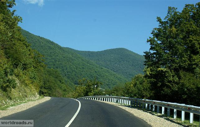 Дорога в долину Аше