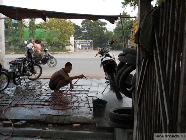 Дырчемойка в Мандалае
