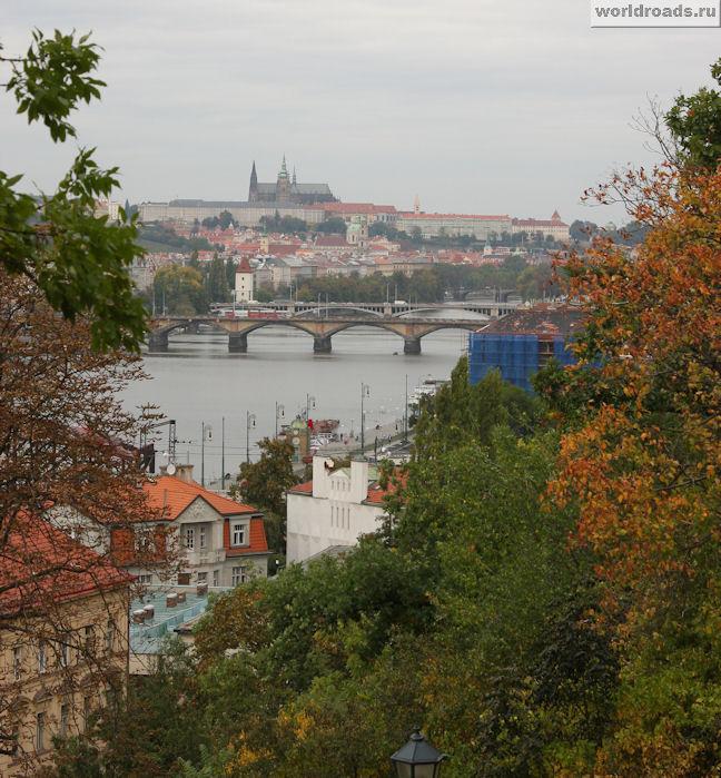 Вид на Прагу с Вышеграда