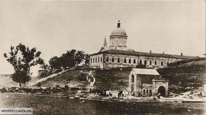 Монастырь Сурб-Хач в начале XX века