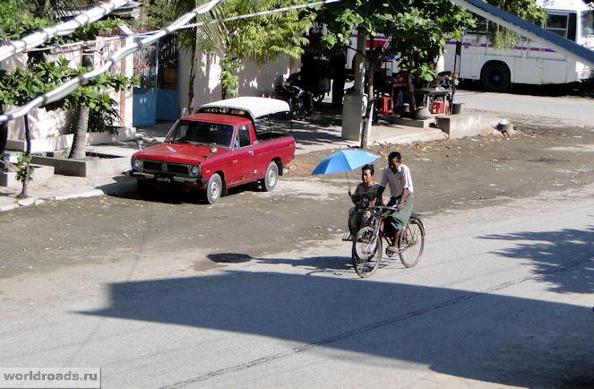 Мандалайское велотакси