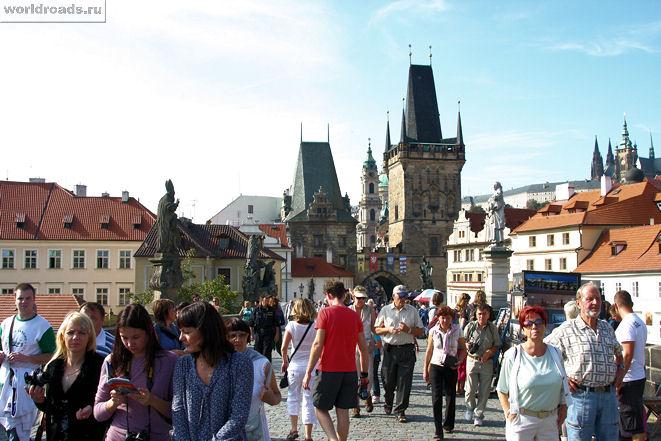 Вид на Староместскую башню