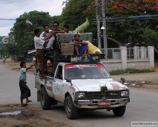 Маршрутки Мьянмы
