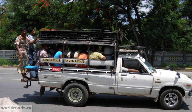 Маршрутки в Мандалае