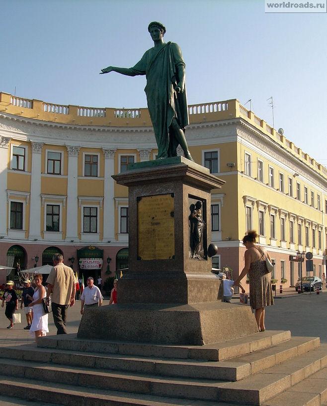 Памятник Ришелье в Одессе