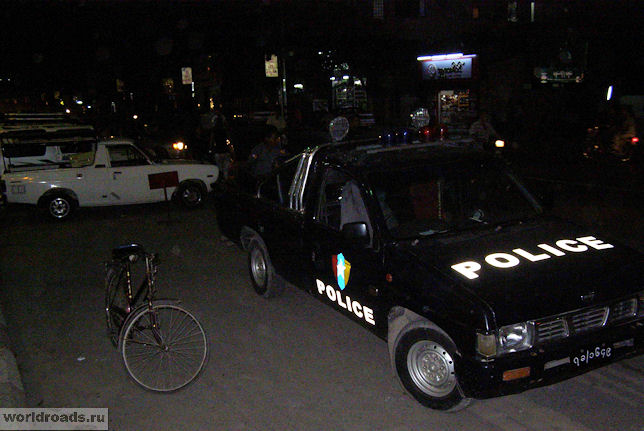 Полиция Мьянмы