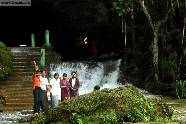 Бирманские туристы