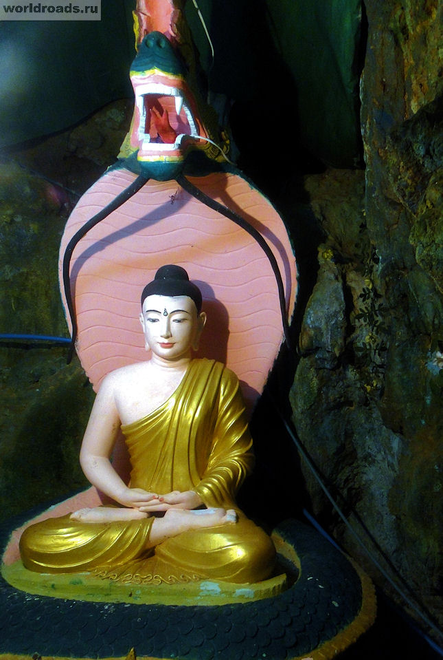 Будда со змеёй