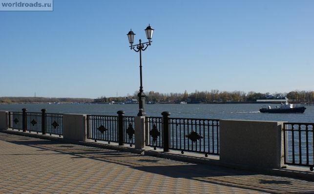 На набережной Ростова
