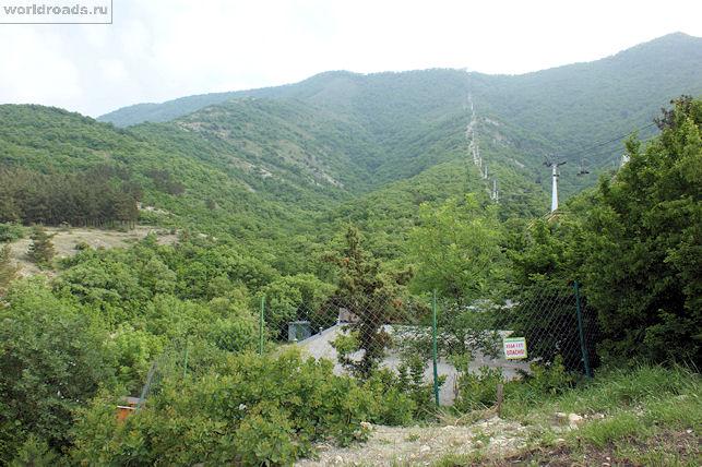 Канатная дорога в Геленджике