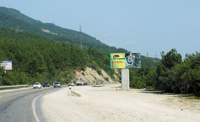 Геленджик, объездная дорога