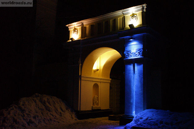 Арка Атаманского дворца