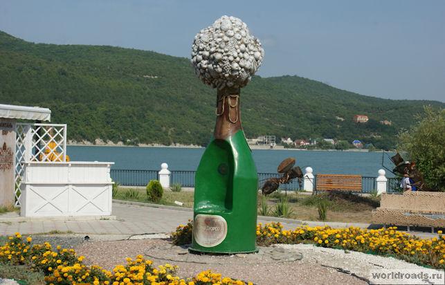 Бутылка-трон