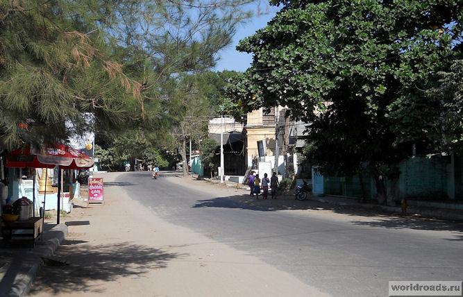 Дороги Багана