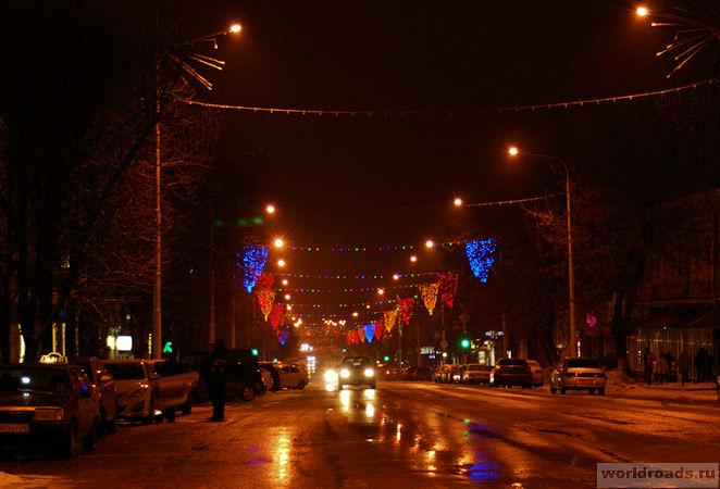 Новогодний Новочеркасск, улица Московская