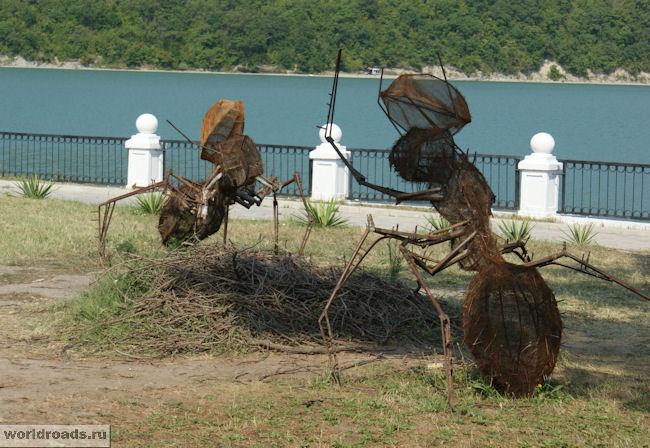Арт-парк в Абрау-Дюрсо. Муравьи