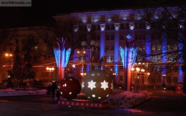Новогодняя Большая Садовая