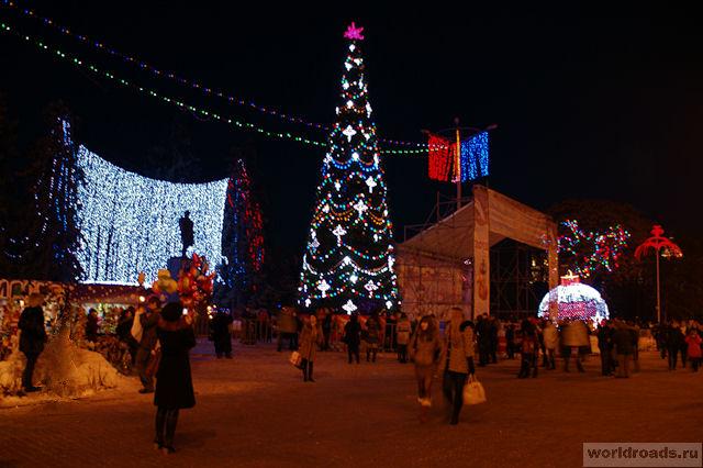 Главная ёлка Ростова-на-Дону