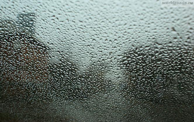 Дождь на лобовом стекле