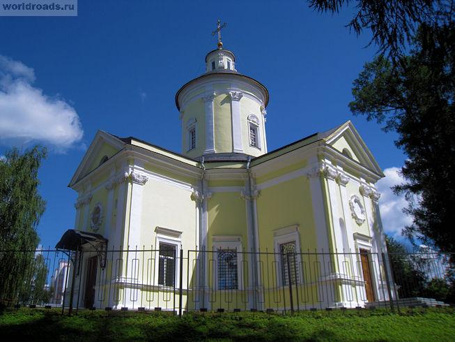 Марфино. Церковь Рождества Богородицы
