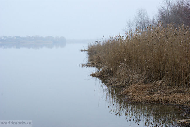 Туман на Дону в Старочеркасске
