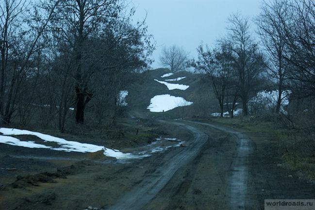 Дорога на Красносулинский карьер
