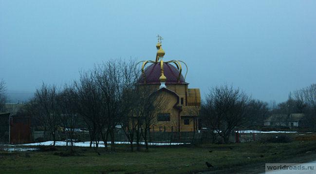 Храм Екатерины Красный Сулин