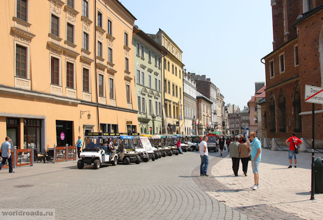Костел св. Марка на улице Славковска